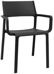 ARM CHAIR TRILL ANTHRACITE