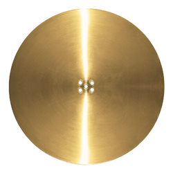 BASE ONLY ROME DISC 720MM BRASS