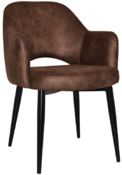 ARM CHAIR  ALBURY BLACKLIGHTOAKWALNUT