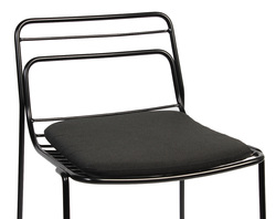 PAD FOR CAGE STOOL BLACK