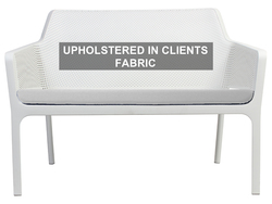 PAD NET BENCH - UPH IN CLIENT FABRIC