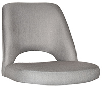 SHELL ALBURY SIDE CHAIR GRAVITY STEEL